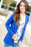 Everyday Cardigan in Royal Blue