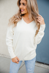 Shall We Dance Sweater in Cream