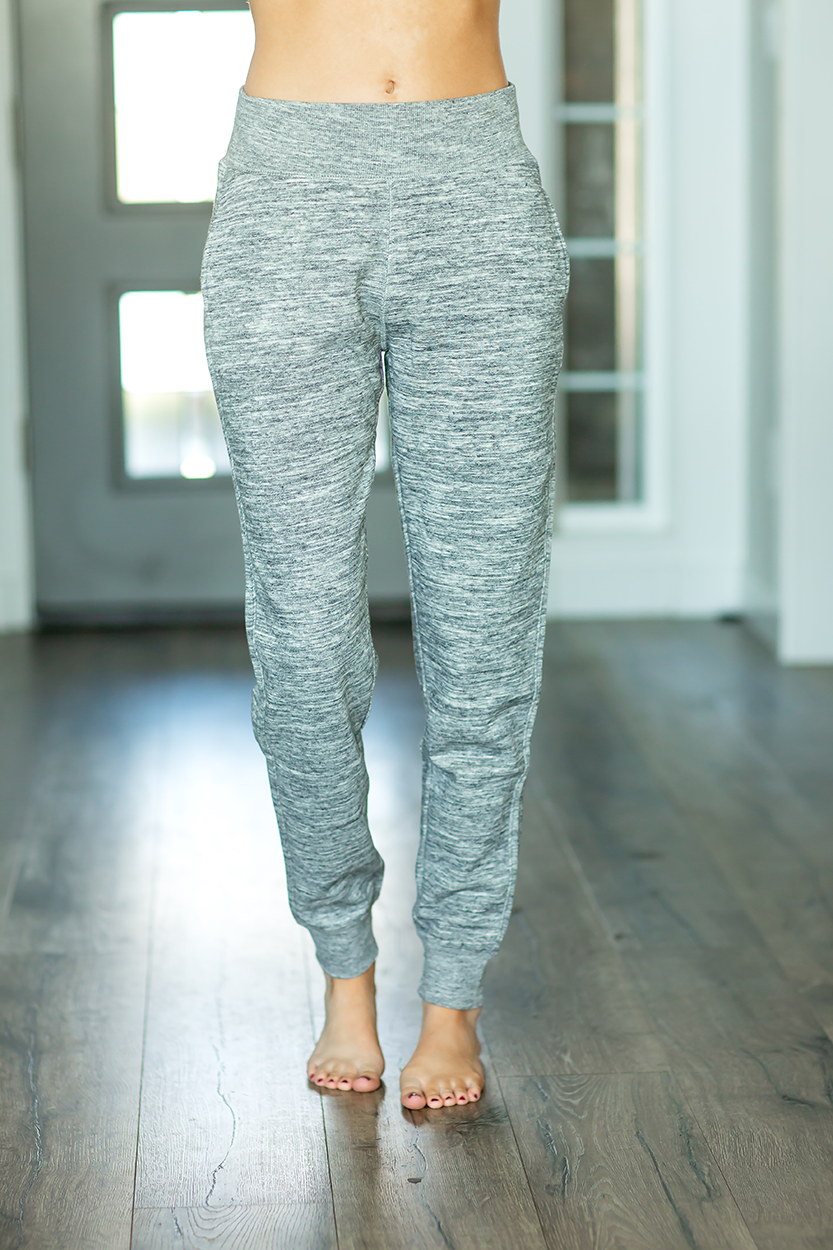 Lazy Days Joggers in Gray