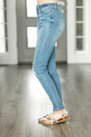KanCan Rise To The Top Medium Wash Jeans