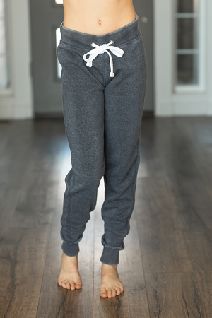 Cute and Comfy Joggers in Vintage Navy