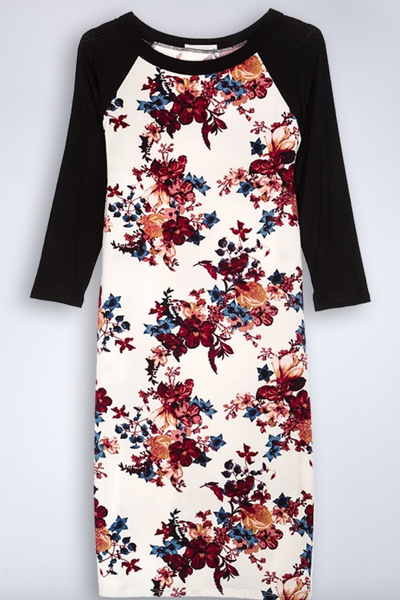 Too Good Floral Dress (SALE)