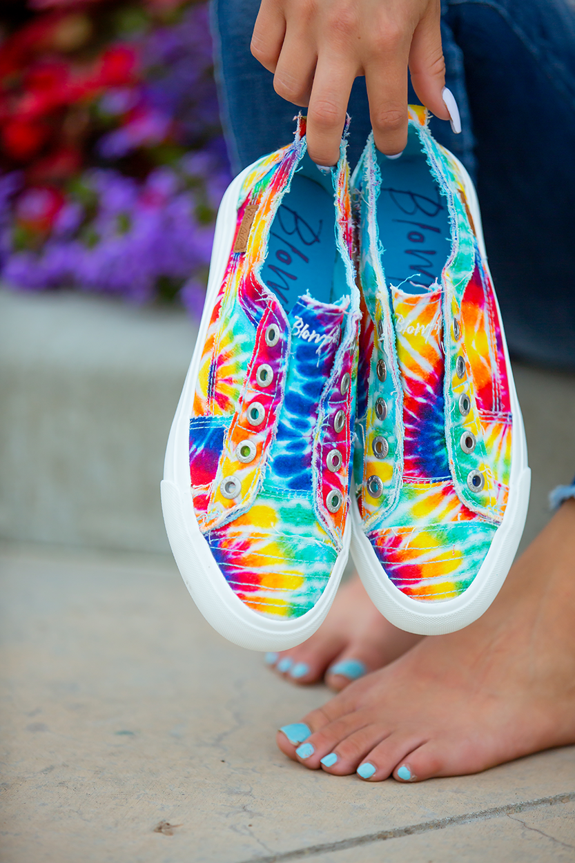 Blowfish Sneakers in Tie Dye