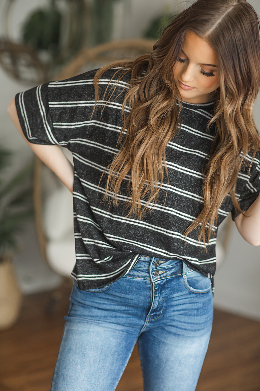 Take It Striped Top