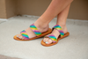 SHOE SALE Brighter Days Sandals in Rainbow