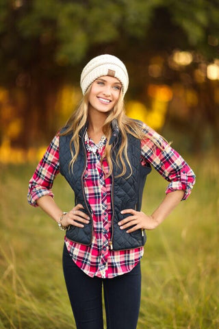 Cool Weather Vest in Navy