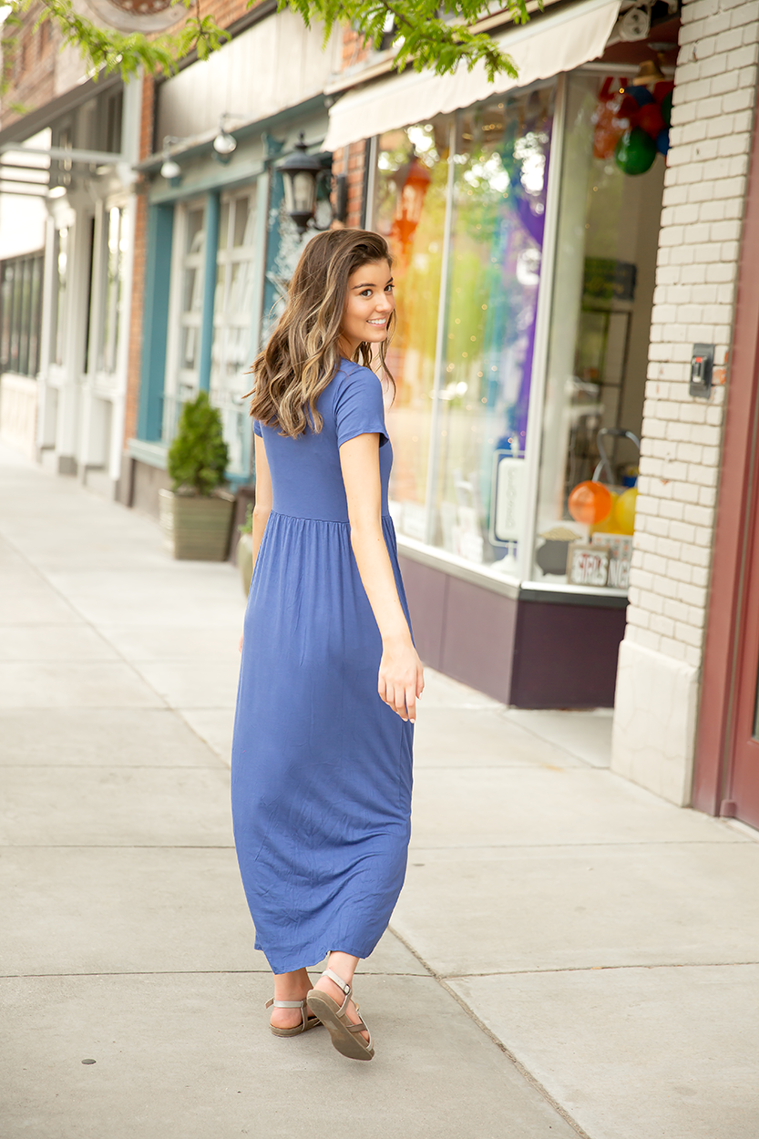 All About You Dress in Blue
