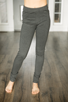 Kancan Off To Work Pants in Charcoal
