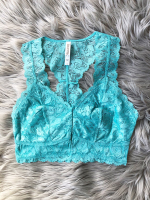 For The Win Lace Bralette (Multiple Colors)