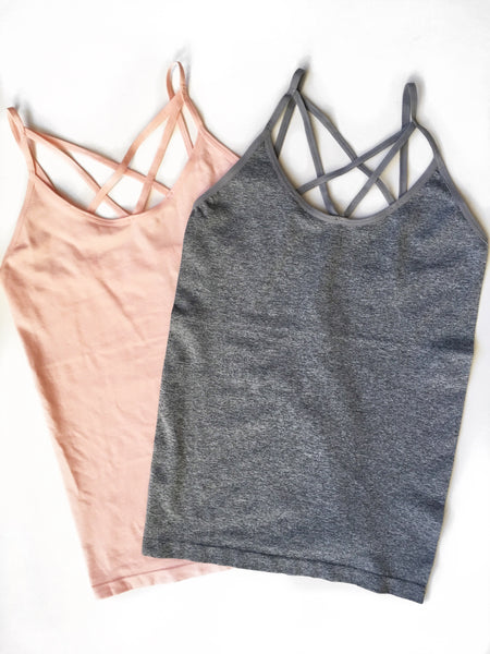Strappy Criss Cross Camis