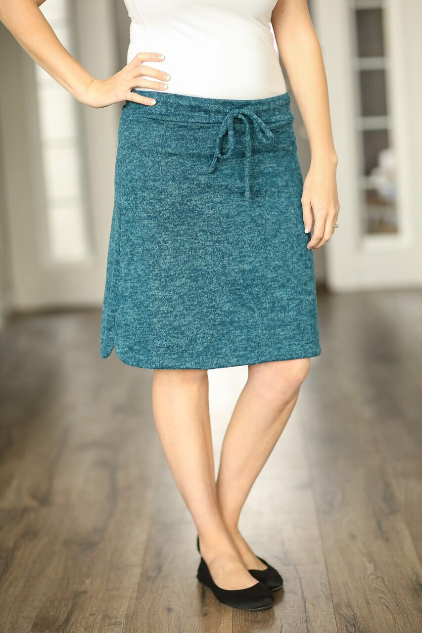 Gotta Have It Skirt in Teal (SALE)