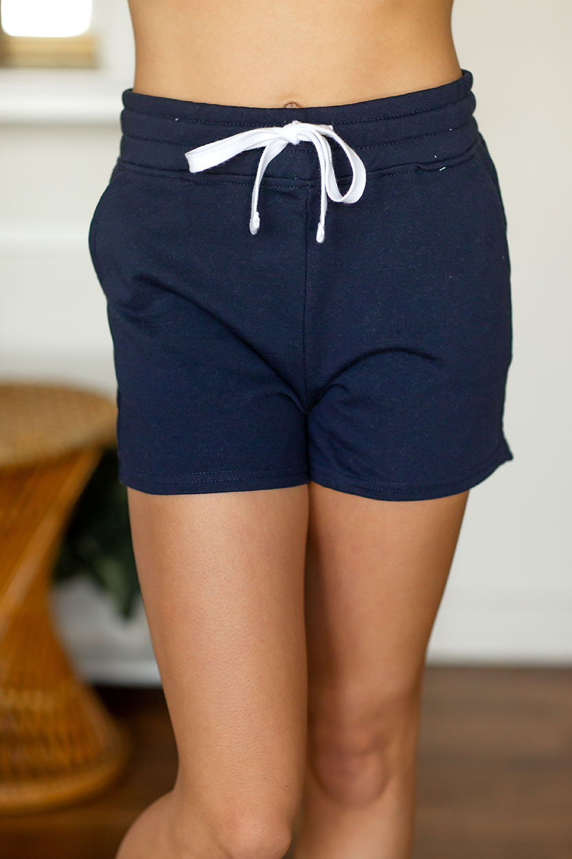 My Treasure Shorts in Navy