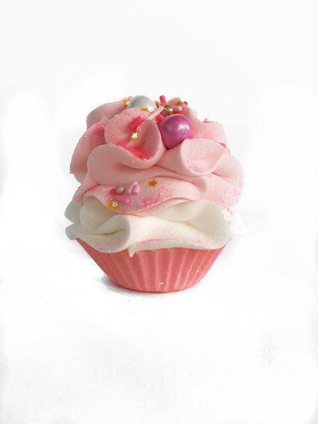 Bubblegum Barbie Cupcake Bath Bomb