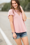 Loving Life With You Top in Mauve (SALE)