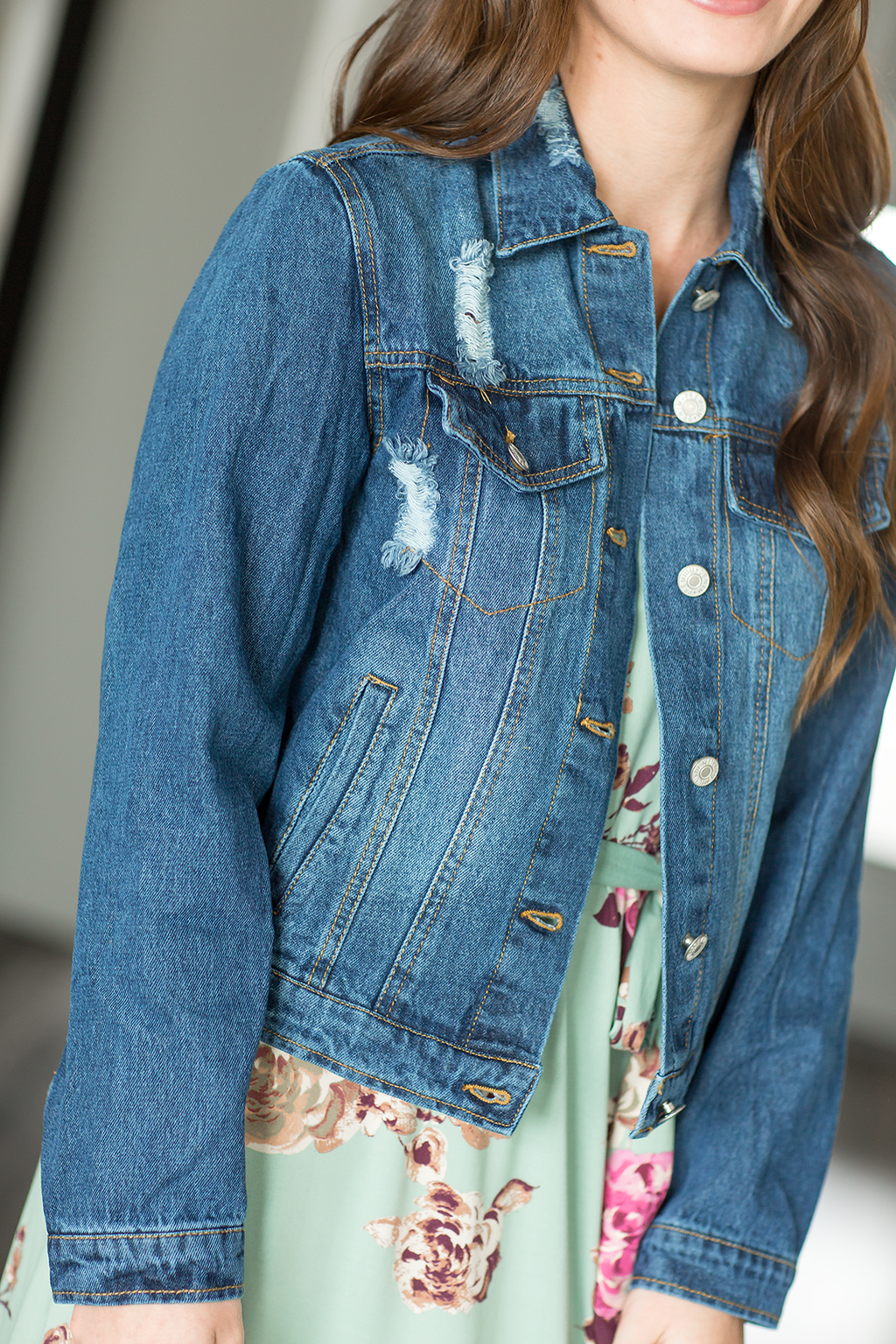 Fair Game Blue Denim Jacket