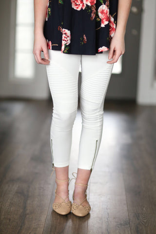 Date Night Moto Leggings