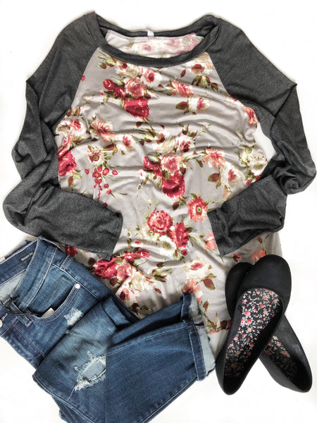 Ready Or Not Floral Top