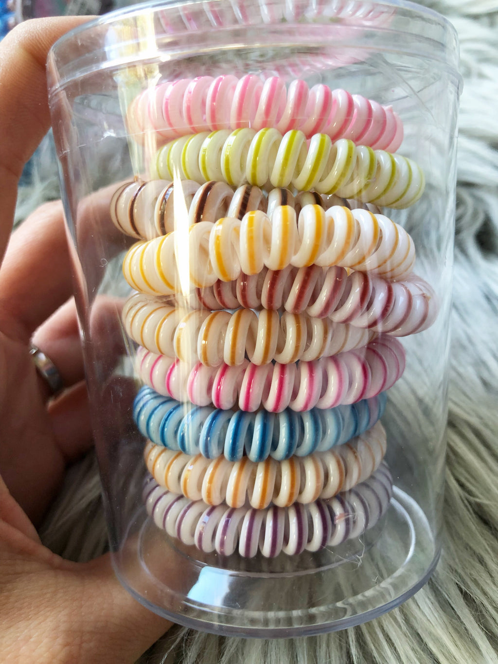 Butterfly Boutique Coil Hair Ties