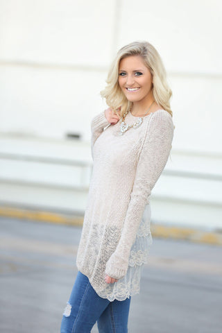 Snuggle Up Knit Sweater (SALE)