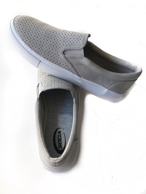 Trail Blazing Slip on Shoes in Gray