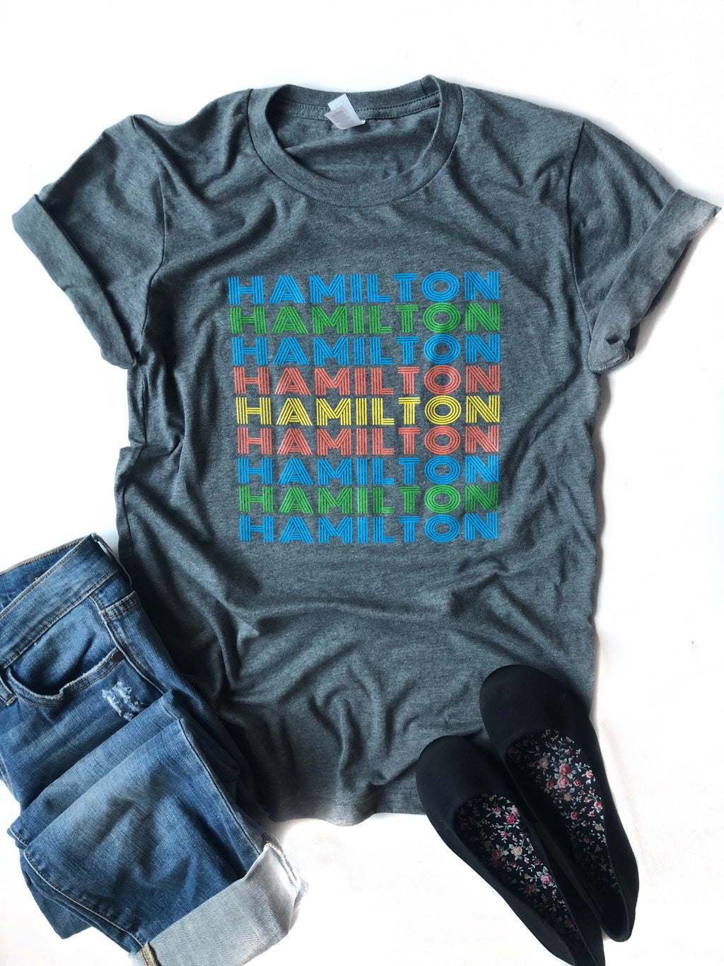Hamilton Retro Graphic Tee