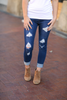 Dream Come True Distressed Denim Jeggings