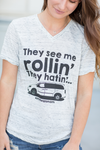 They See Me Rollin' Graphic Tee (SALE)