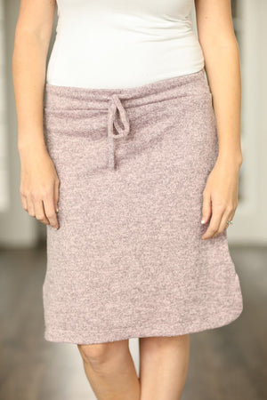 Gotta Have It Skirt in Dusty Pink (SALE)