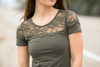 Under The Sun Lace Top (Multiple Colors) (SALE)