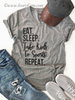 Eat, Sleep, Take Kids to Sports, Repeat Graphic Tee