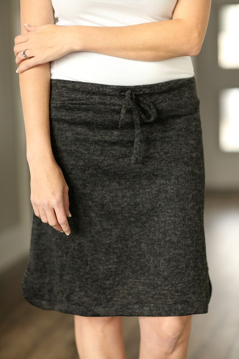 Gotta Have It Skirt in Charcoal (SALE)