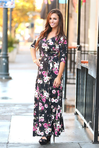 Perfect Ten Floral Maxi Dress