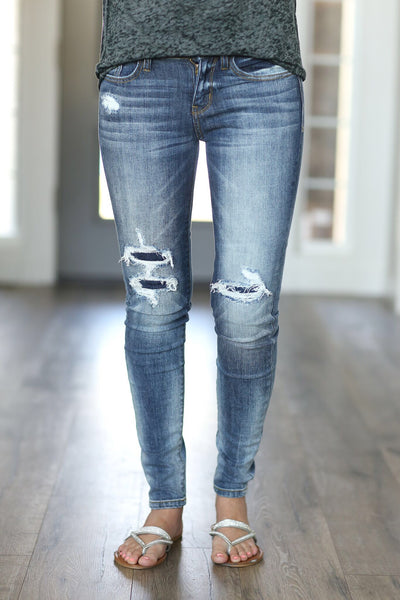 Tried and True Patched Up Denim