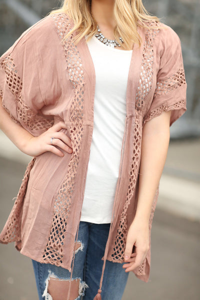 Oh So Pretty Cardigan in Mocha