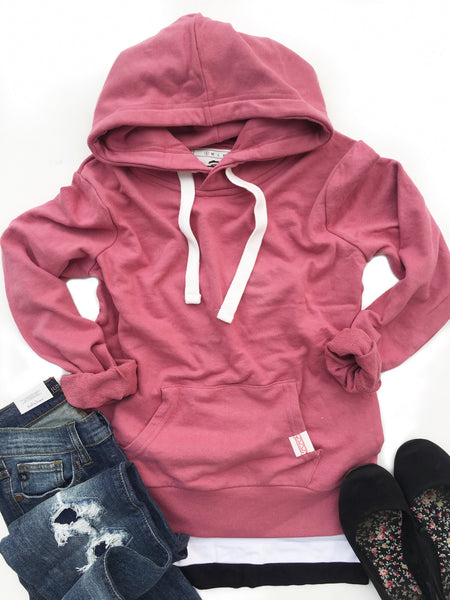 Highlights Hoodie in Pink