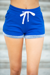 Short and Sassy Shorts in Royal Blue