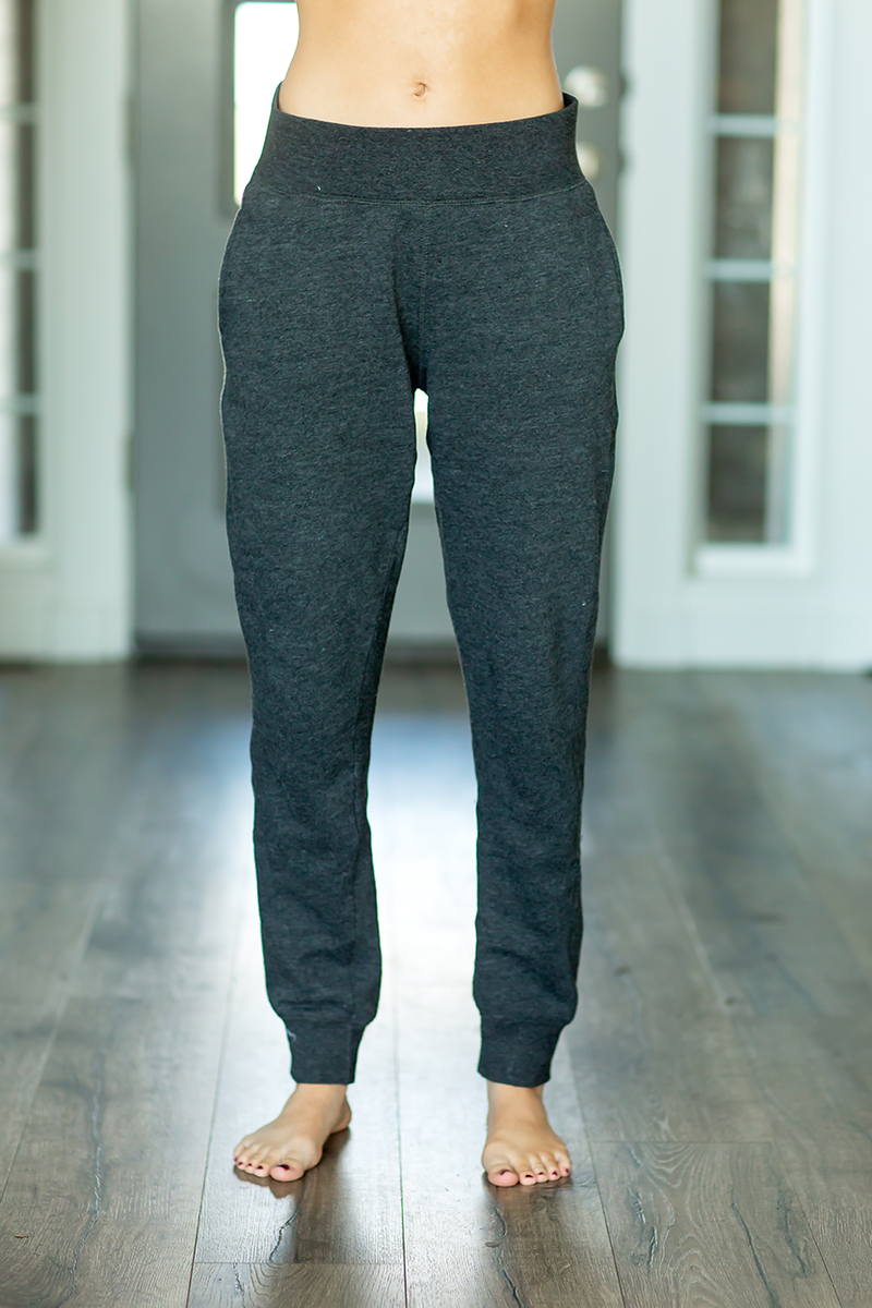 Lazy Days Joggers in Charcoal