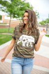 Mama Bear Camo Alternative Graphic Tee