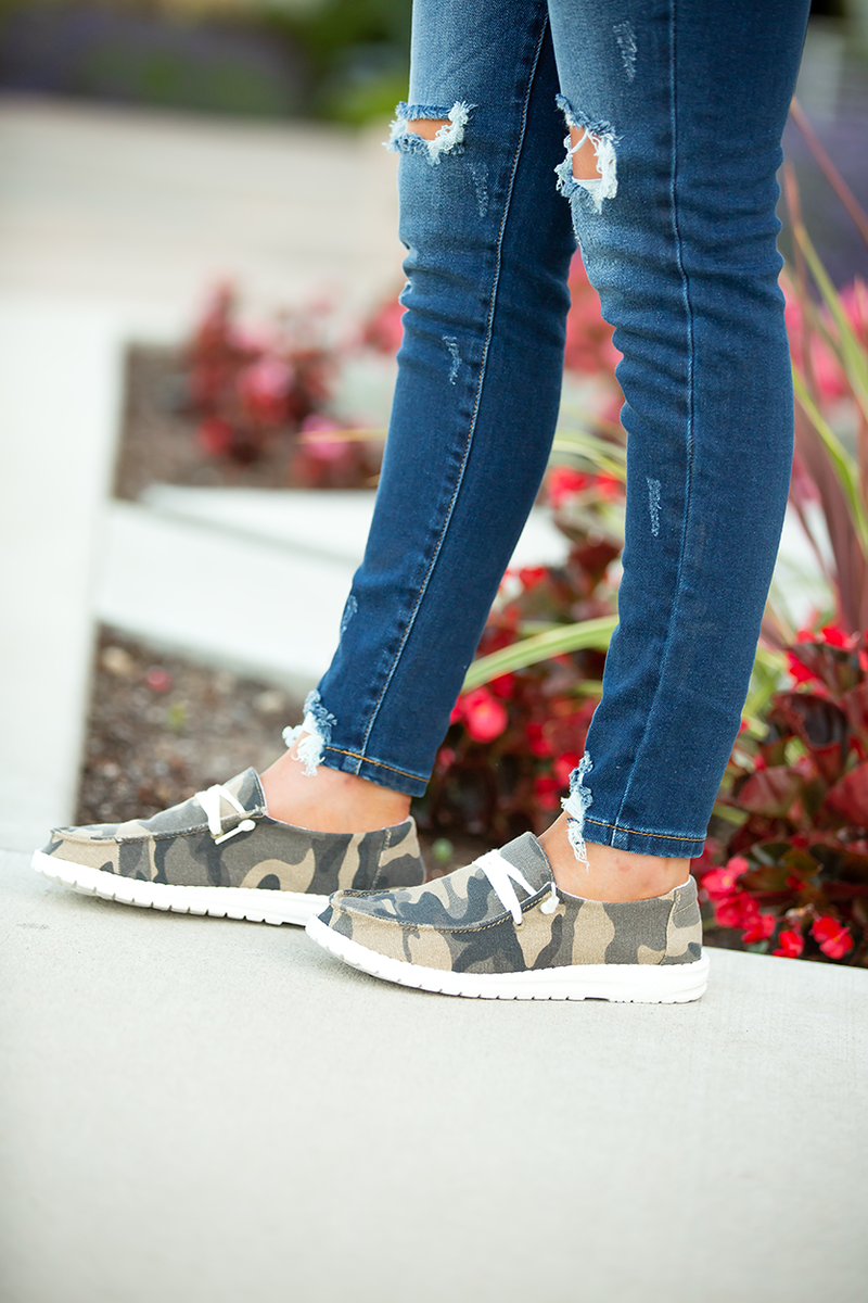 Gypsy Jazz Fun For You Sneaker in Camo