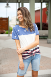 American Girl Stars and Stripes Top