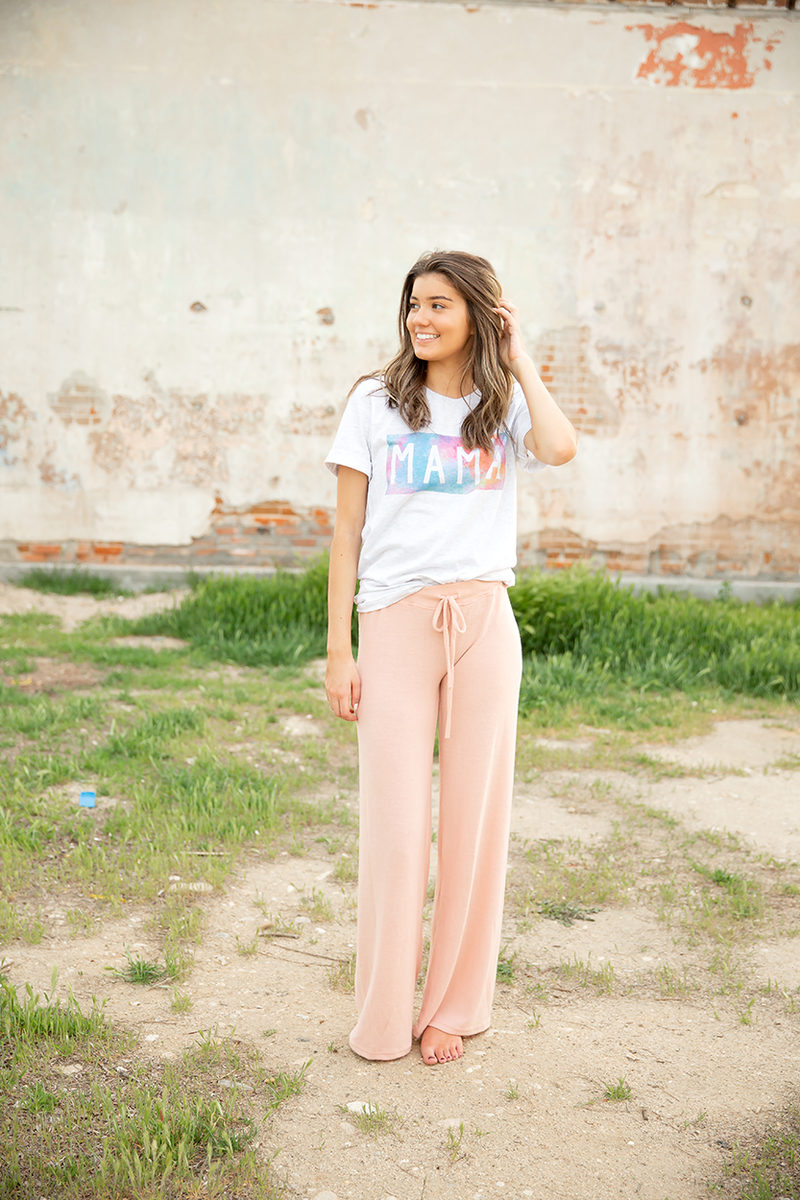 Just Relax Lounge Pants in Pink