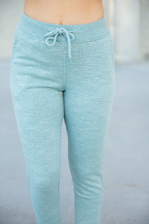 On the Run Joggers in Smoky Blue