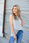 Belong With Me Striped Tank Top