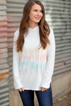 Call Me Darling Multi Colored Tie Dye Hoodie