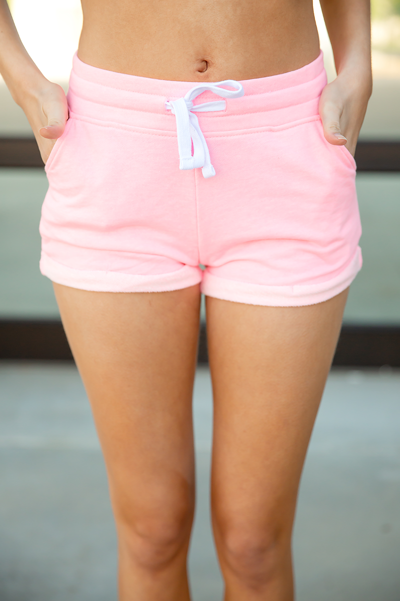 Best Dressed Shorts in Neon Pink