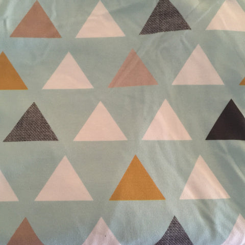 Mod Triangles Fabric