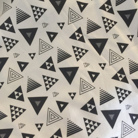 Black Triangle Fabric
