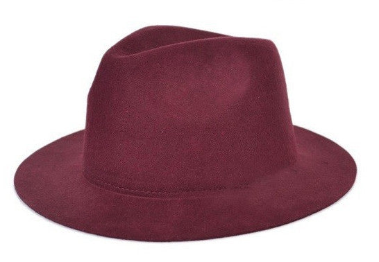 Maroon Floppy Hat