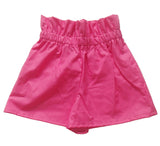 Raspberry Ripple High Waisted Shorts