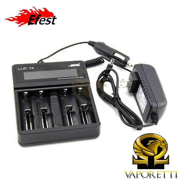 Efest Luc V4 4 bay Battery Smart Charger